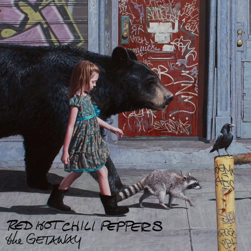 Red Hot Chili Peppers - новый альбом The Getaway